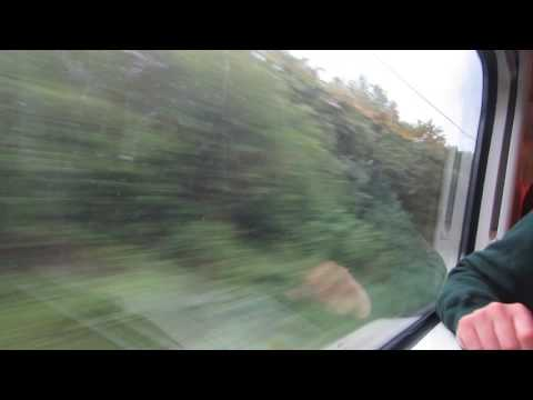 A Train ride  Virgin Trains Class 390 From Coventry to Birmingham International on 13th May 2017