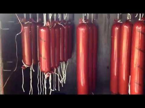 Smoked summer sausage Elk