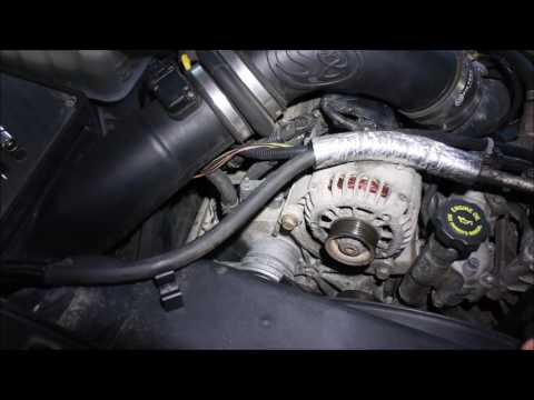 Alternator replacement on an '02 GMC Duramax