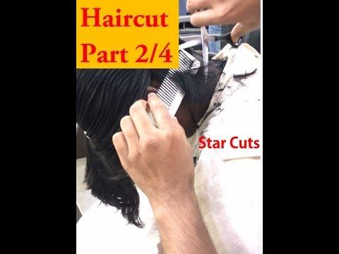 Girl Haircut in Barbershop - Part 2/4   HD1080p  