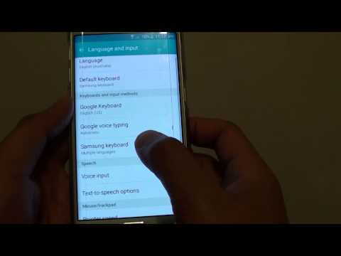 Samsung Galaxy S6 Edge: How to Reset Keyboard Settings