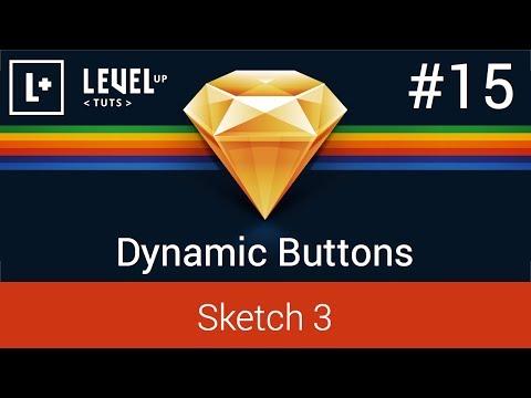 Sketch App Tutorials #15 - Dynamic Buttons