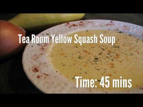 Tea Room Yellow Squash Soup Recipe