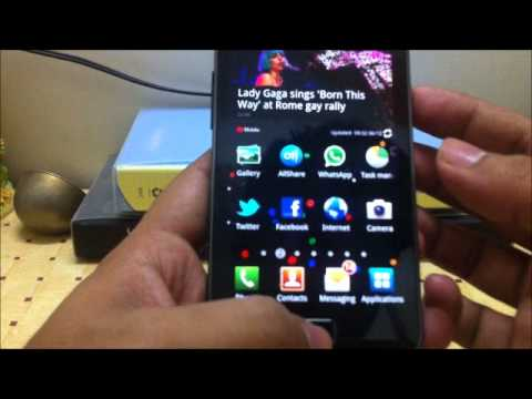 How To Take Screenshot Of Screen Samsung Galaxy S 2