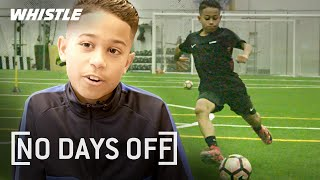 10-Year-Old AMAZING Soccer Skills | Future Barcelona STAR?
