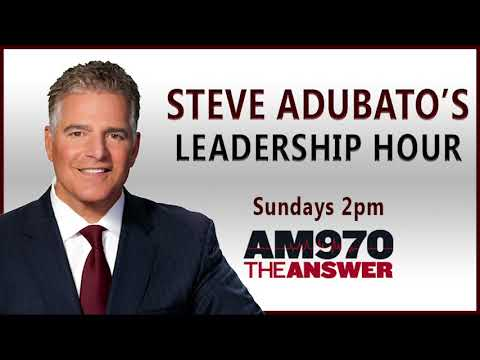 """Larry Downes, NJ Resources, talks leadership, followed by """"State of Affairs with Steve Adubato"""""""