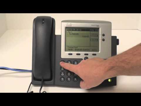 Cisco 7940 How to record greetings
