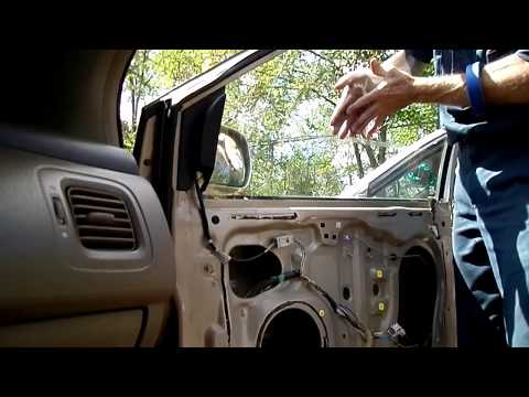 Honda Odyssey Window Motor Regulator Removal