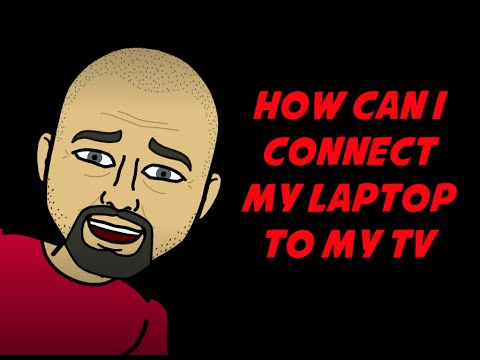 How Can I Connect My Laptop To My TV - Connect Computer To TV