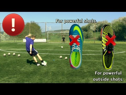 How to Shoot a Soccer Ball with Power - Tutorial by freekickerz