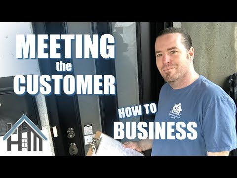 How to Meet the Customer! How to Business. Easy!