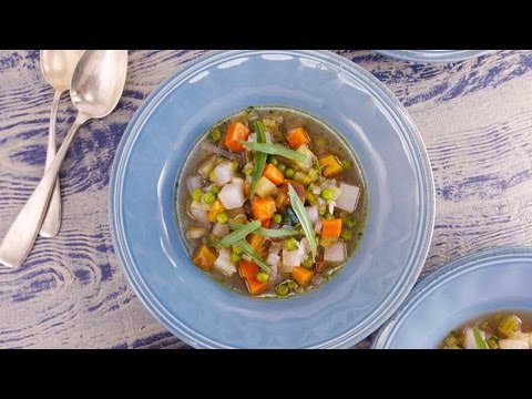 Peas and Carrots Soup