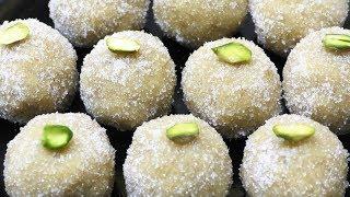 बिना घी बिना मावा सिर्फ 2 चीज़ो से-ऐसी नयी मिठाई जिसे देख रसमलाई भी शर्मायी   Peanut Ladoo Recipe