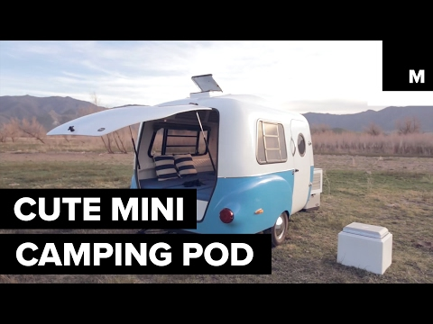 Mini camping pod