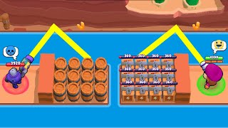 LUCKY vs UNLUCKY in MAP MAKER!!!Brawl Stars Funny Moments & Glitches & Fails #367