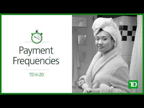 TD - Payment Frequencies