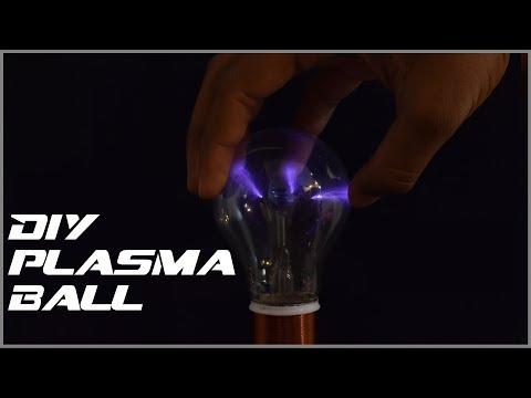 How to make a DIY plasma ball!