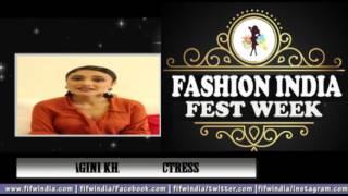 FASHION INDIA FEST WEEK | ACTRESS RAGINI KHANNA  |  टीवी & फ़िल्म अभिनेत्री ।
