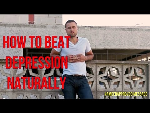 How To Beat Depression Naturally And Feel Awesome without Drugs #Ameerapproved