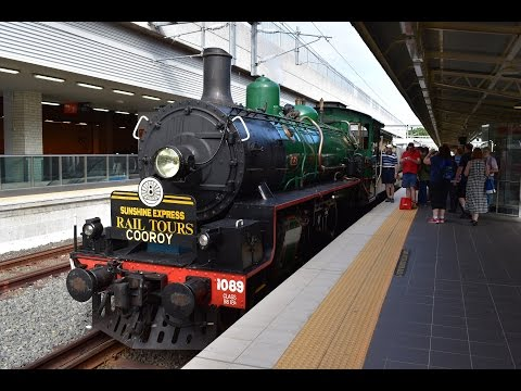 BB18 ¼ 1089 - ARHS Steam Train to Cooroy - 18/03/2017 - Part 1 of 2