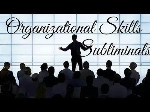 Improve Organization Skills | Become a Better Leader Subliminals