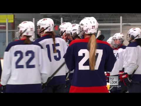 On The Ice With The U.S. Women's Hockey Team (Part 1)