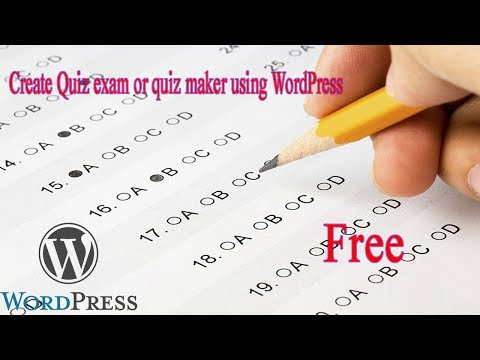 how to make quiz exam online free easy 100%