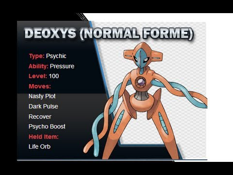 How to Get FREE Lv. 100 DEOXYS for your Pokemon Black 2 & White 2 Games
