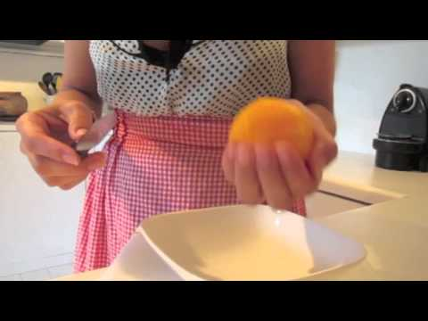 How to Section an Orange, Lime or Grapefruit  // Throwback Thursday Tasty Bit