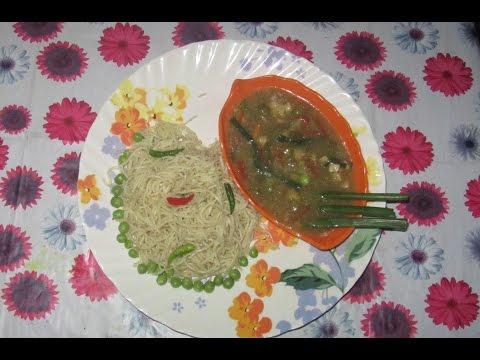 chicken gravy chow - fooduchi