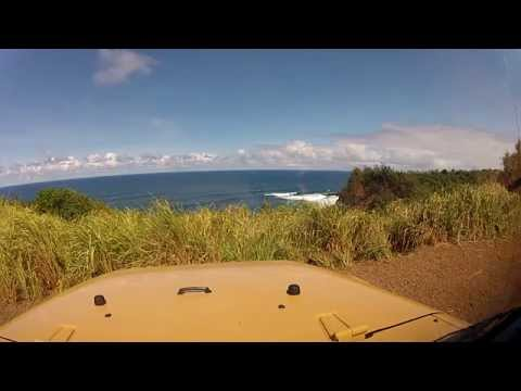 The road down to JAWS - Pe'ahi,Maui