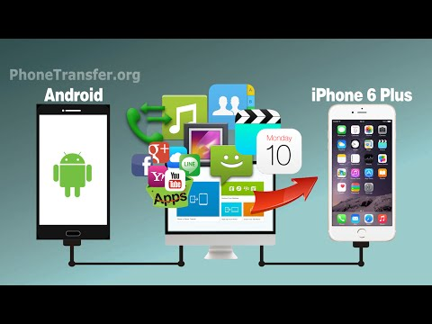 [Android to iPhone 6 Plus]: How to Transfer All Data from Android Phone to iPhone 6/6+/SE