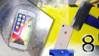 Can iPhone 8 Survive In Liquid Nitrogen?