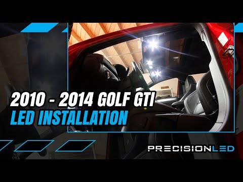 Volkswagen Golf GTI LED Fog Lights How To Install - 6th Gen 2010-2014
