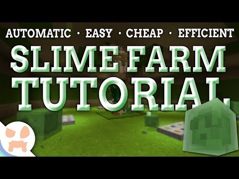 EASY & CHEAP 1.12.2 Slime Farm Tutorial | Fully Automatic , All Versions
