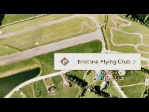 First step in getting your pilot's licence is a trial flying lesson Enstone Flying Club near OXFORD