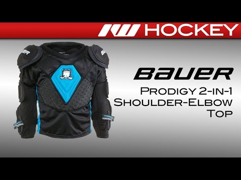 Bauer Prodigy 2-in-1 Shoulder-Elbow Hockey Top Review
