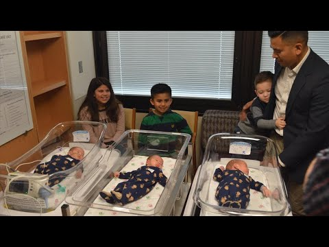 Woman Has Triplets Naturally After Having Twins in Her Second Pregnancy