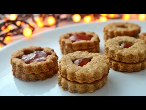 Walnut linzer cookies | Good after Christmas Food | 2016
