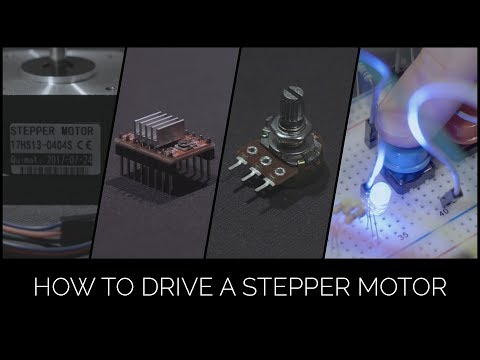 Nema 17 Stepper Motor - Arduino Uno/A4988/Potentiometer/Buttons