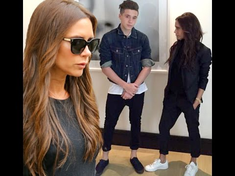 Victoria Beckham attempting to keep a low profile as she attended meetings in Midtown Manhattan ahea