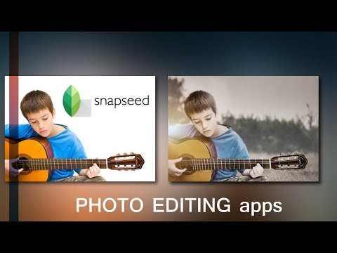 Snapseed tutorial - Merge two images into one _part 2