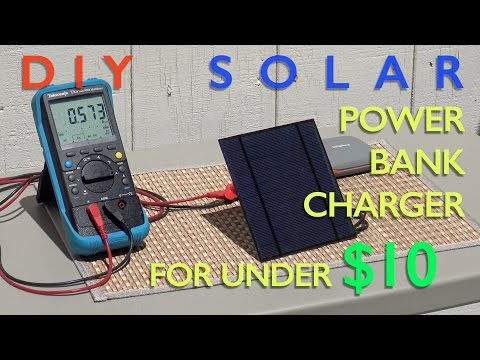 DIY Solar Power Bank Charger