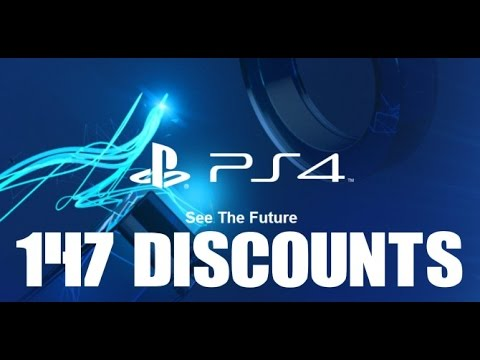 147 Exclusive PS PLUS Discounts PS4 EU UK