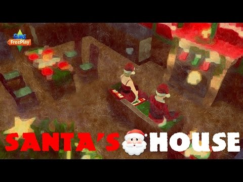 Sims Freeplay - Santa's House Tour