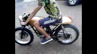 bulldog bike honda cb 100 cafe racer ride to die   music jinni
