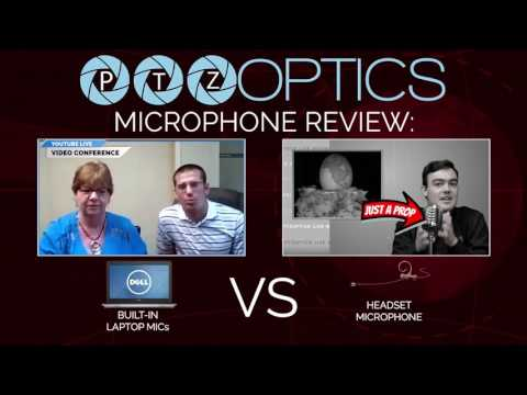 Built-in Laptop Microphone vs Professional Headset Microphone Review