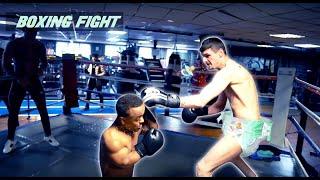 LIKKLEMAN VS PRODUCER - BOXING FIGHT ! Ft Tom Zanetti & Jaykae)