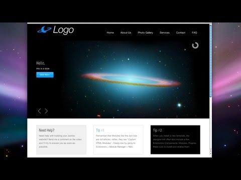 Create a Joomla Website! - Easy! - 2012