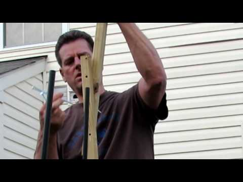 How to Build a 12-14 Foot Collapsible Pole For Hops, Cucumbers & Beans: Trellsing Examples DIY Ep-7